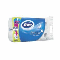 Toalett papír Zewa Deluxe Aroma Spa / Pure White 3 rétegű 8 tekercs