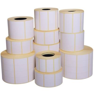 30x50 mm thermo karton címke 700 cimke / tekercs