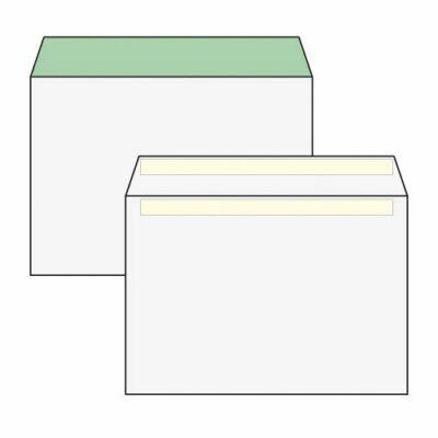 Boríték, Harmanec, LC/6, (114x162mm), környezetbarát, öntapadós, 100 db/csomag