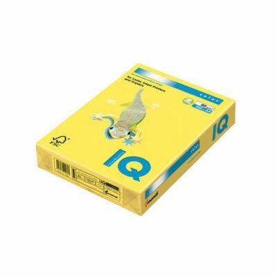 Másolópapír A/4 80g IQ Color 500ív intenzív élénksárga