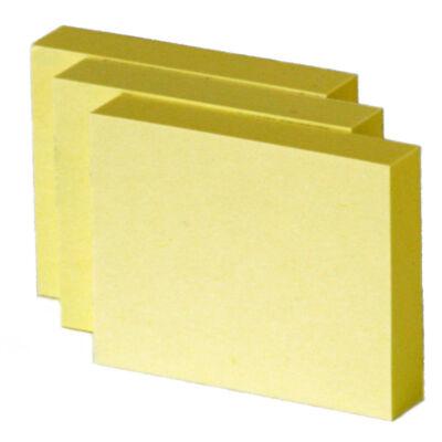 Öntapadó jegyzettömb 40x50mm (3db/csomag)