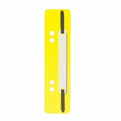 Gyorslefűzőcsík normál Q-Connect sárga