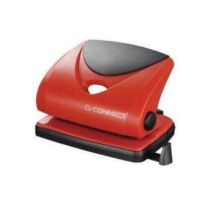 Q-Connect Medium duty lyukasztó piros 20 lap
