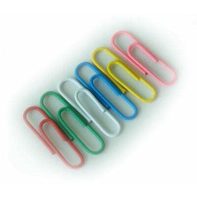Gémkapocs színes 28mm horganyzott 100db/doboz