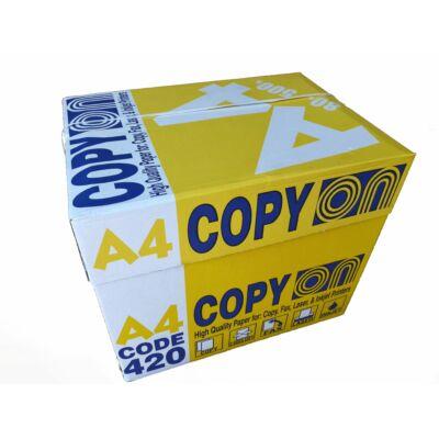 Másolópapír A/4 Copy On 80g 500 ív