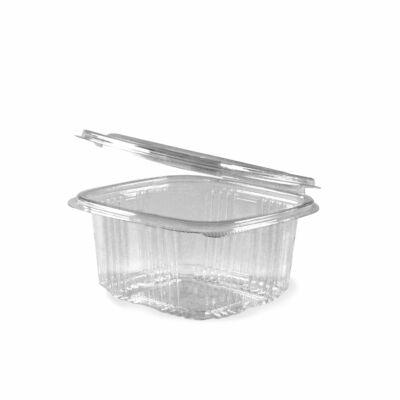 Egybefedeles Gastro műanyag szögletes 500 ml [ 50 db/cs ] [ 900 db/# ]