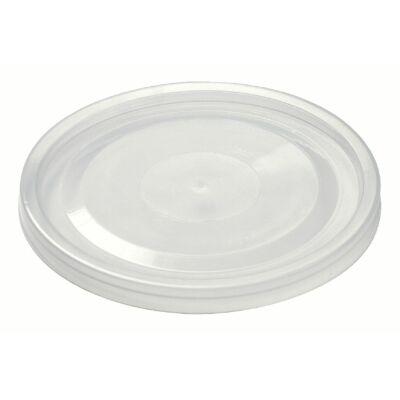 Pohár shaker műanyag tető - lapos lyukas [ 50 db/cs ] [ 16 cs/# ]
