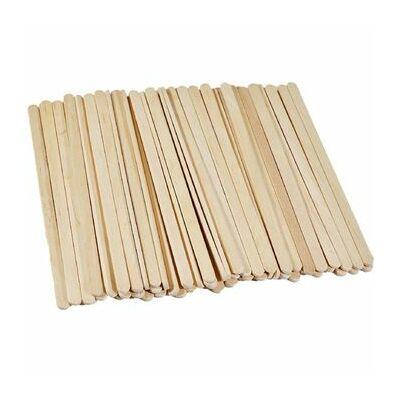 Fa kávékeverő pálcika - 140 x 6 x 1 mm