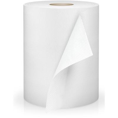 Kéztörlő tekercses 2 rétegű fehér, 110 méter, 18 cm átm. 100% cell.