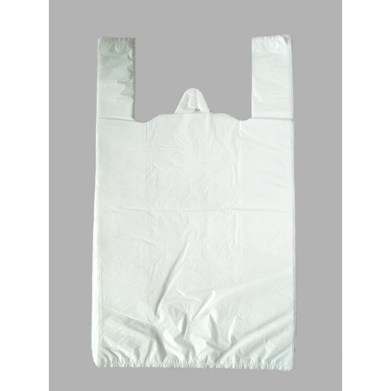 Ingvállas táska 40x50cm fehér VASTAG