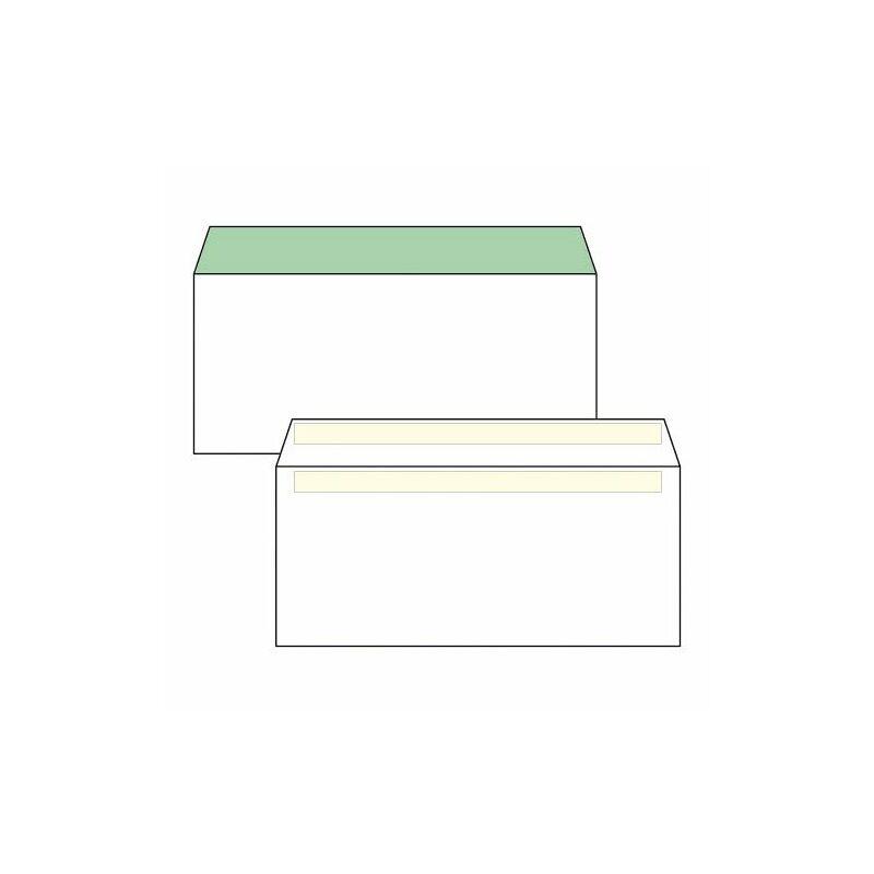 Boríték, Euro, LA/4, (110x220mm), öntapadós, 100 db / csomag