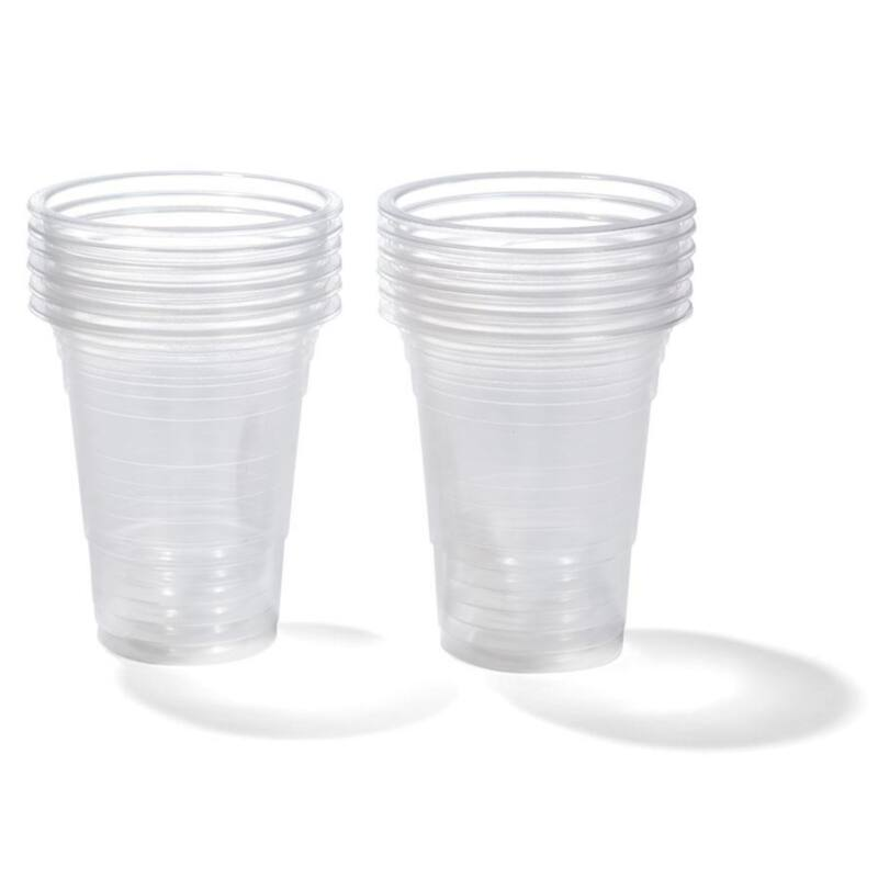 Pohár víztiszta műanyag 3 dl 100 db/cs