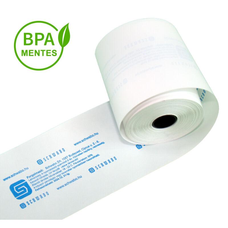 Sagem OTP bankkártya leolvasó hőpapírszalag