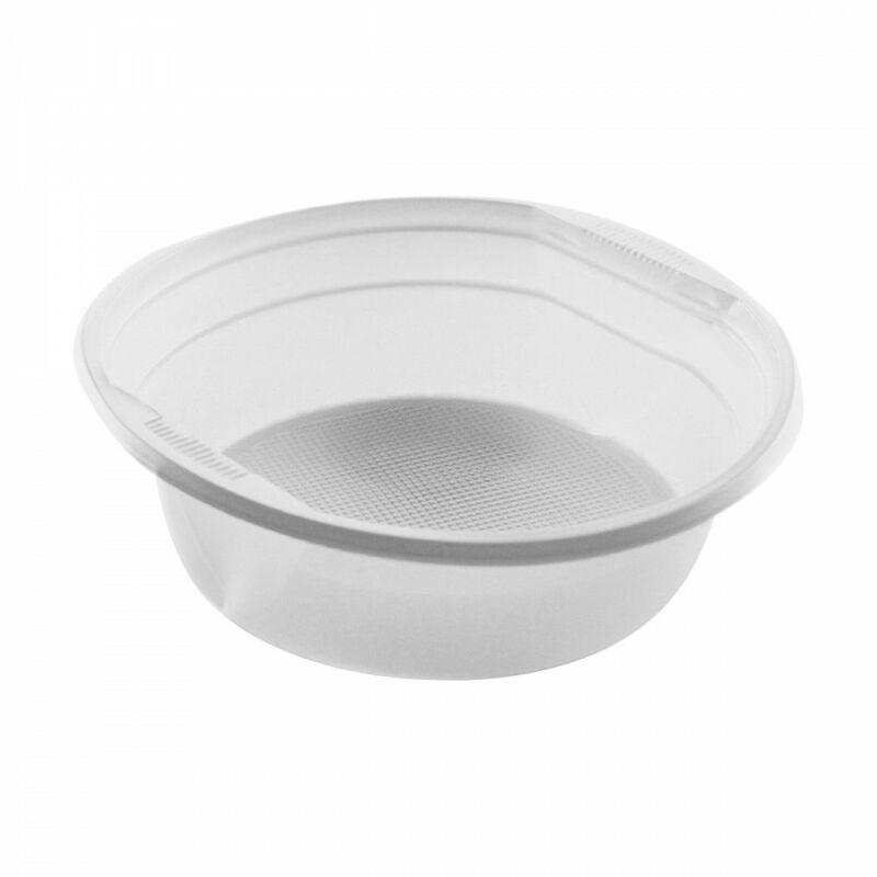 Gulyástál kerek PP műanyag fehér 500 ml [ 50 db/cs ] [ 11 cs/# ]