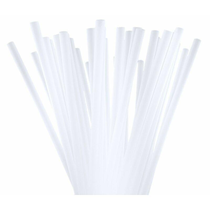 Szívószál bio - komposztálható PLA - 6,5 mm H:230 mm