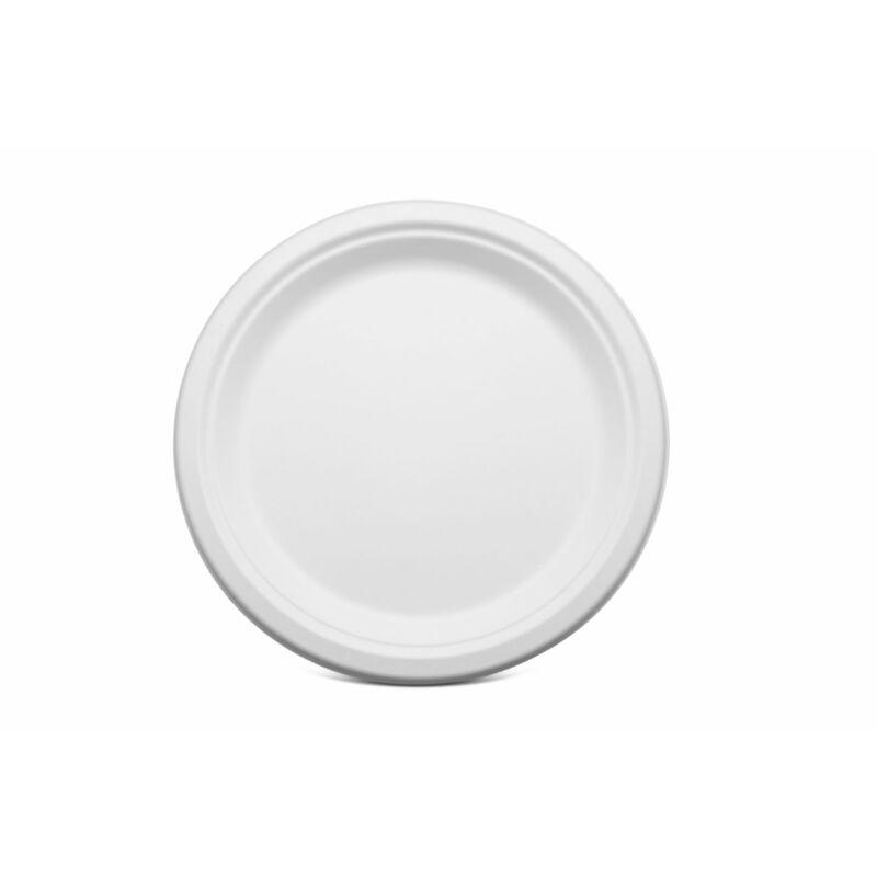 ÖKO tányér cukornád 23 cm [ 50 db/cs ]
