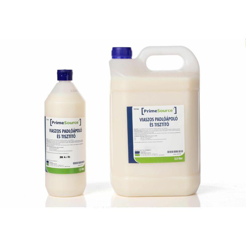 Prime Source Viaszos padlóápoló és tisztító 1 literes